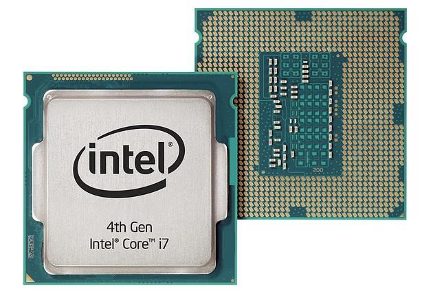 Intel Haswell procesor zdjęcie