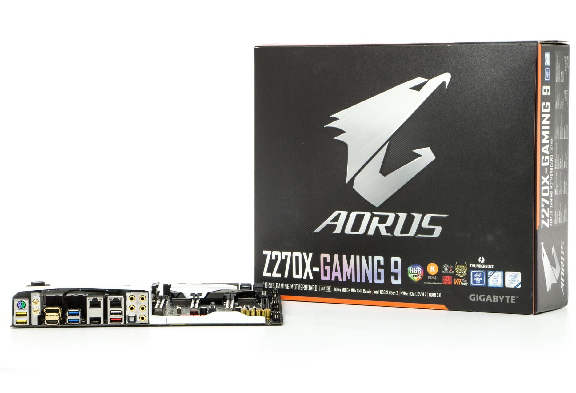Gigabyte Aorus Ga Z270x Gaming 9 Test Gaz270x Socket 1151 Kaby Lake