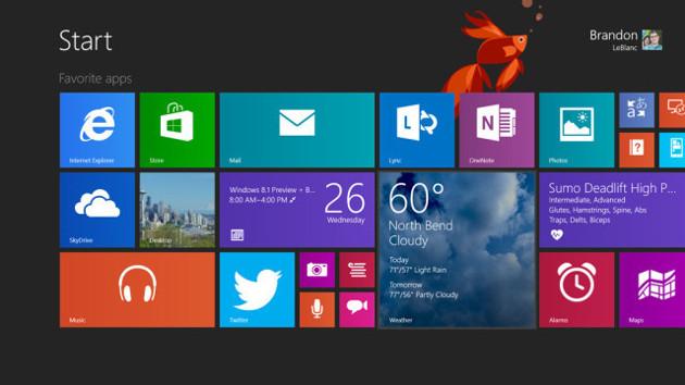 windows 8.1 system ukończony wersja rtm
