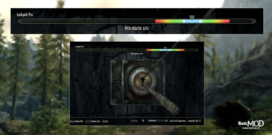 The Elder Scrolls V: Skyrim Lockpick Pro
