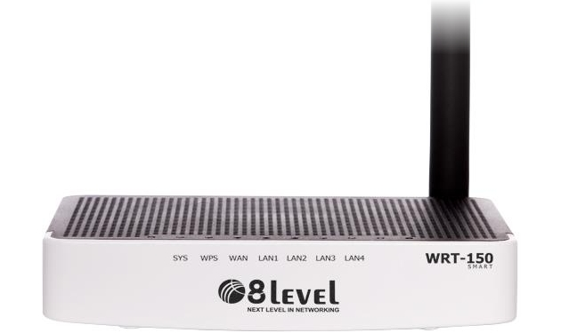 8level WRT-150 SMART router nowy front