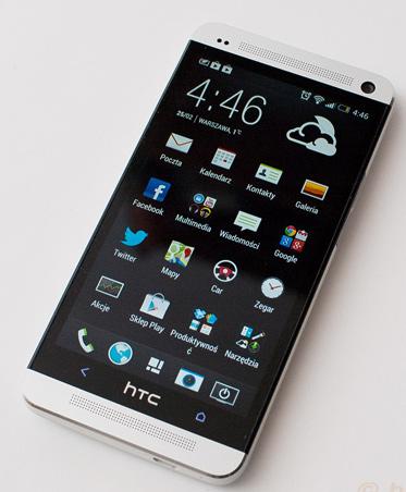 htc one smartfon wygląd sprzedaż 5 mln sztuk