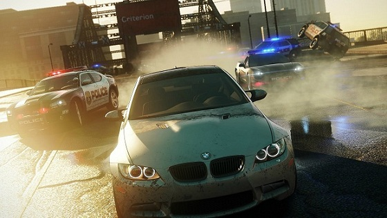 need for speed most wanted 2 screen obrazek gameplay