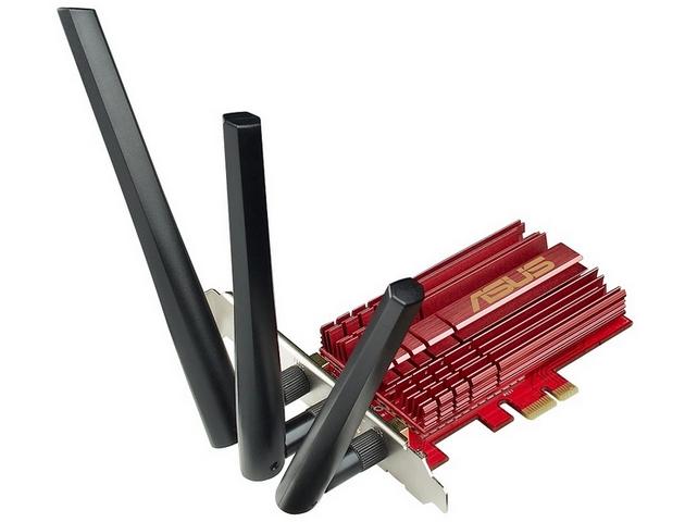 ASUS PCE-AC66 bezprzewodowa karta sieciowa Wi-Fi 802.11ac zdjęcie