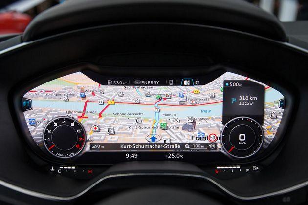 Audi Nvidia wskaźniki