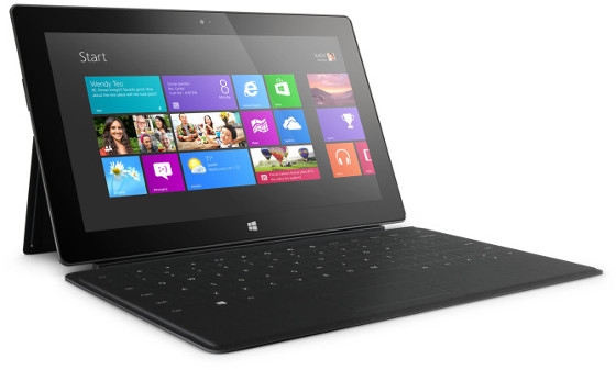 surface rt tablet winows rt wygląd touch cover klawiatura
