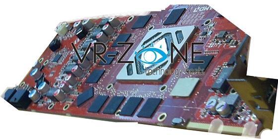 płytka PCB karty graficznej AMD Radeon HD 7900