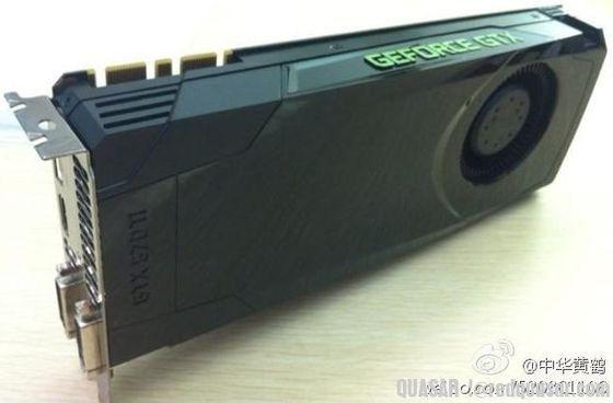 Nvidia GeForce GTX 670 Ti karta graficzna zdjęcie