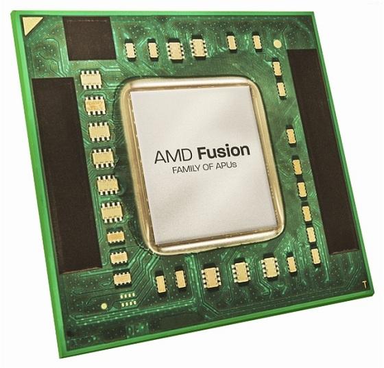 AMD APU ALlano procesor zdjęcie