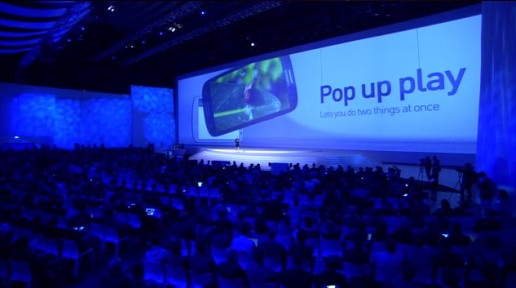 Samsung Galaxy S III 3 premiera smartfona Pop Up Play