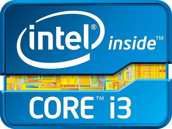 Intel Core i3 procesor logo ivy bridge