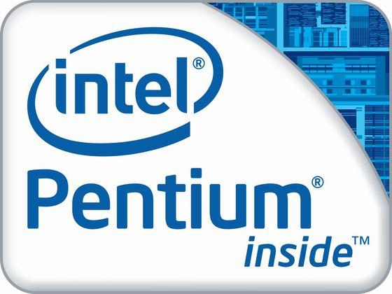 Intel Pentium inside ivy bridge procesor logo