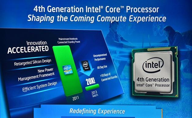 Intel Haswell procesor prezentacja IDF 2012