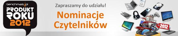 Nominacje w Plebiscycie Produkt Roku 2012