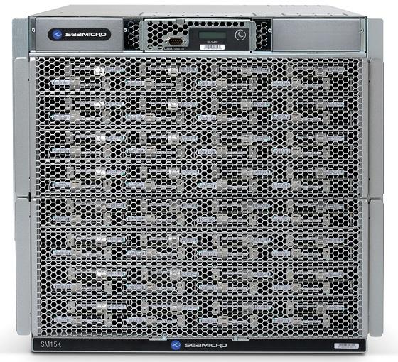 AMD SeaMicro SM15000 serwer zdjęcie