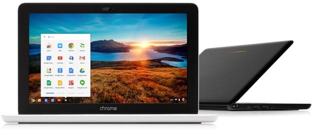 HP Chromebook 11 widok przód