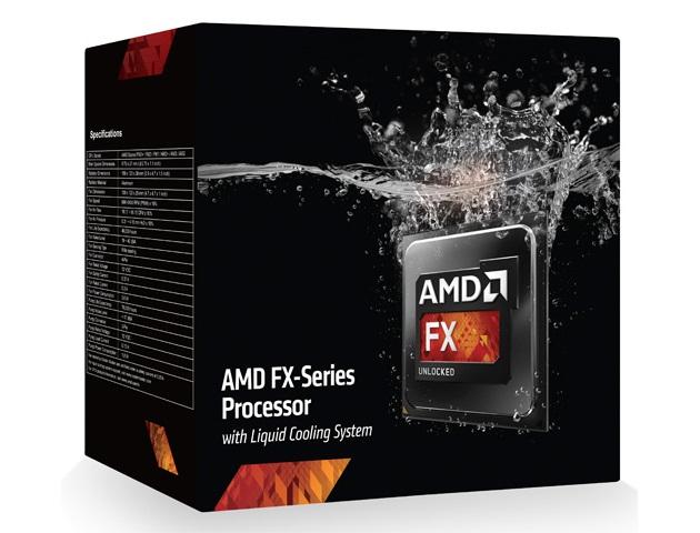 AMD FX-9590 procesor zchłodzeniem cieczą