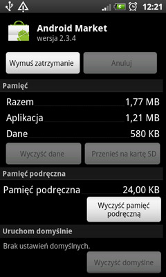 Usługi android system