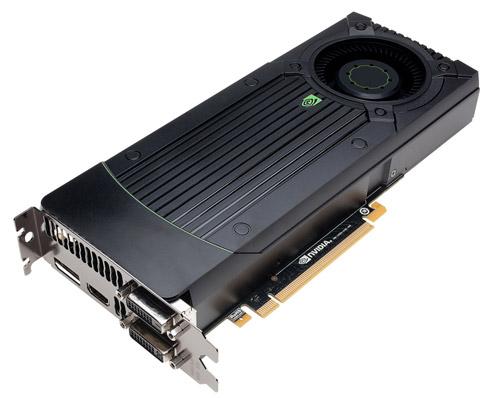 Nvidia GeForce GTX 670 karta graficzna zdjęcie