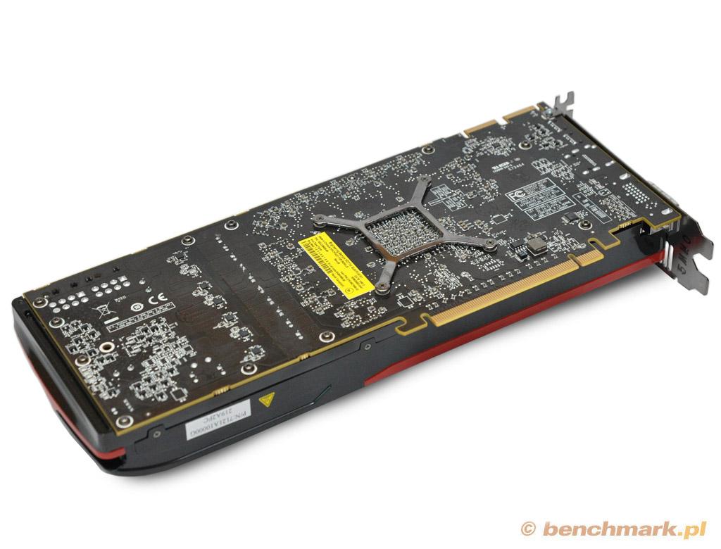 AMD Radeon HD 7970 GHz Edition karta graficzna rewers PCB zdjęcie