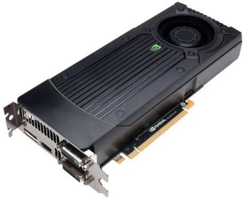 Nvidia GeForce GTX 660 Ti karta graficzna zdjęcie