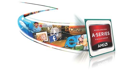 AMD APU ATrinity procesory grafika