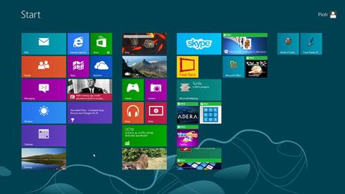 Windows 8 - sterowanie dotykiem