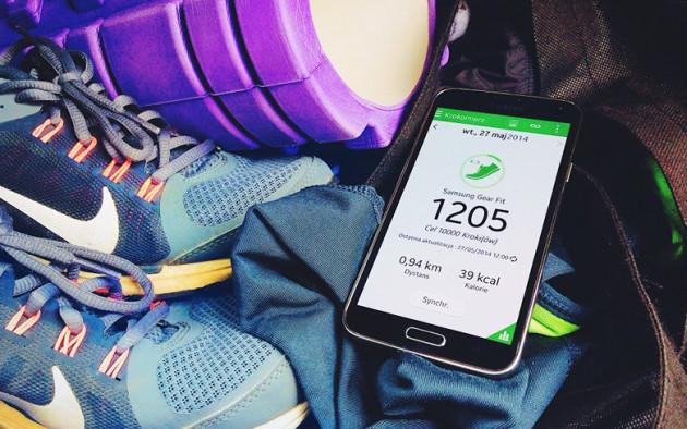 Galaxy S5 smartfon aktywność