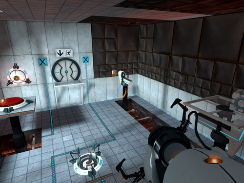 Screen z gry Portal 2
