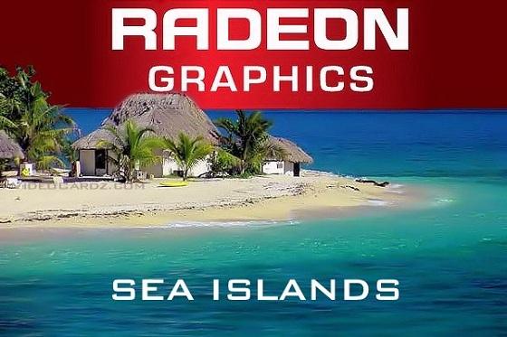 AMD Radeon HD 8000 Sea Islands nieoficjalna grafika