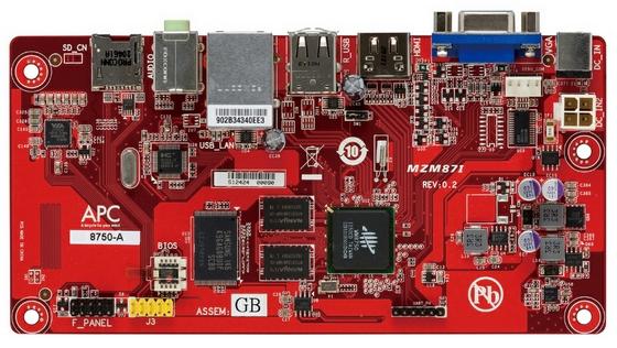 VIA APC miniaturowy komputer płyta główna nowe komponenty