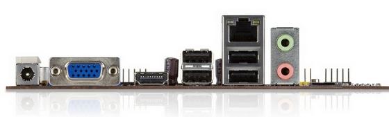 VIA APC miniaturowy komputer porty