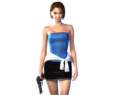 Jill Valentine из Resident Evil