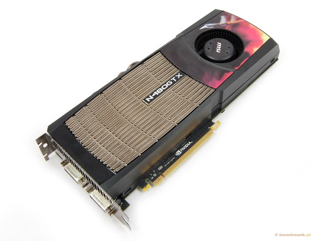 MSI GeForce GTX 480