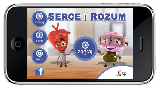 Serce iRozum gra pobierz download android ios Facebook