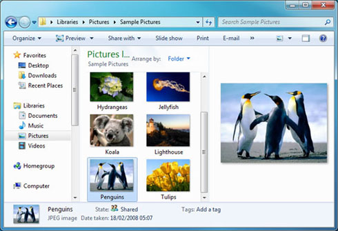 Kolejne spojrzenie na Windows 7
