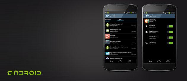 Łatwa kontrola uprawnień aplikacji w Androidzie 4.3