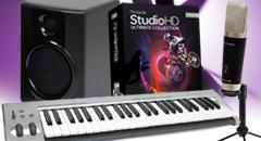 Avid M-Audio - rzut okiem na zestaw do nagrywania iedycji dźwięku