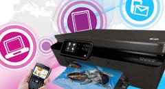 HP PhotoSmart 5510 iK510: technologia ePrint wdziałaniu