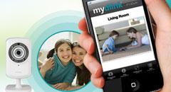 Monitoring mobilny - aplikacje D-Link dla iPhone'a i Androida
