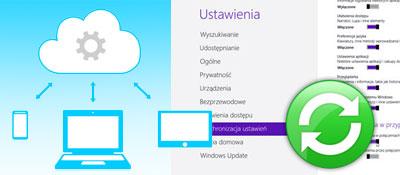 Synchronizacja ustawień systemu Windows 8